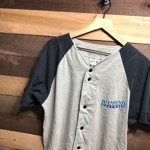Vintage MLB Diamondbacks Jersey Shirt Men's L